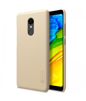 Чехол Nillkin Frosted для Xiaomi Redmi 5 Plus золотой