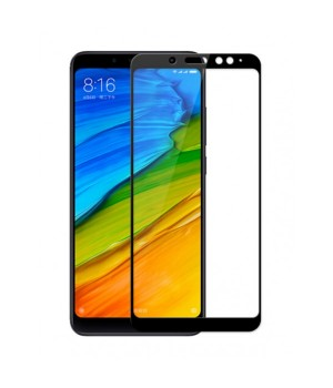 Защитное 3D стекло Xiaomi Redmi Note 5 черное