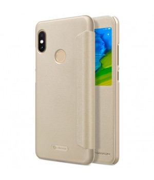 Чехол Nillkin Sparkle для Xiaomi Redmi Note 5 золотой