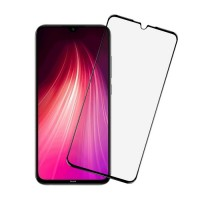 Защитное 3D стекло Xiaomi Redmi Note 8 черное