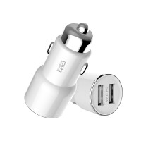 Автомобильное ЗУ с FM-трансмиттером Roidmi 3S Car Charger White (BFQ04RM)