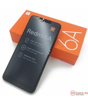 Xiaomi Redmi 6A 2/32Gb Черный