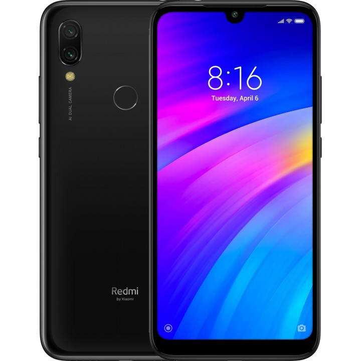 Xiaomi Redmi 7 2/16Gb Черный