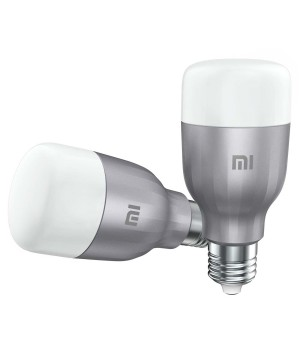 Умная лампа Xiaomi Mi LED Smart Bulb (White And Color) 2-Pack (MJDP02YL)