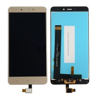 Дисплей для Xiaomi Redmi Note 4 MTK LCD Gold