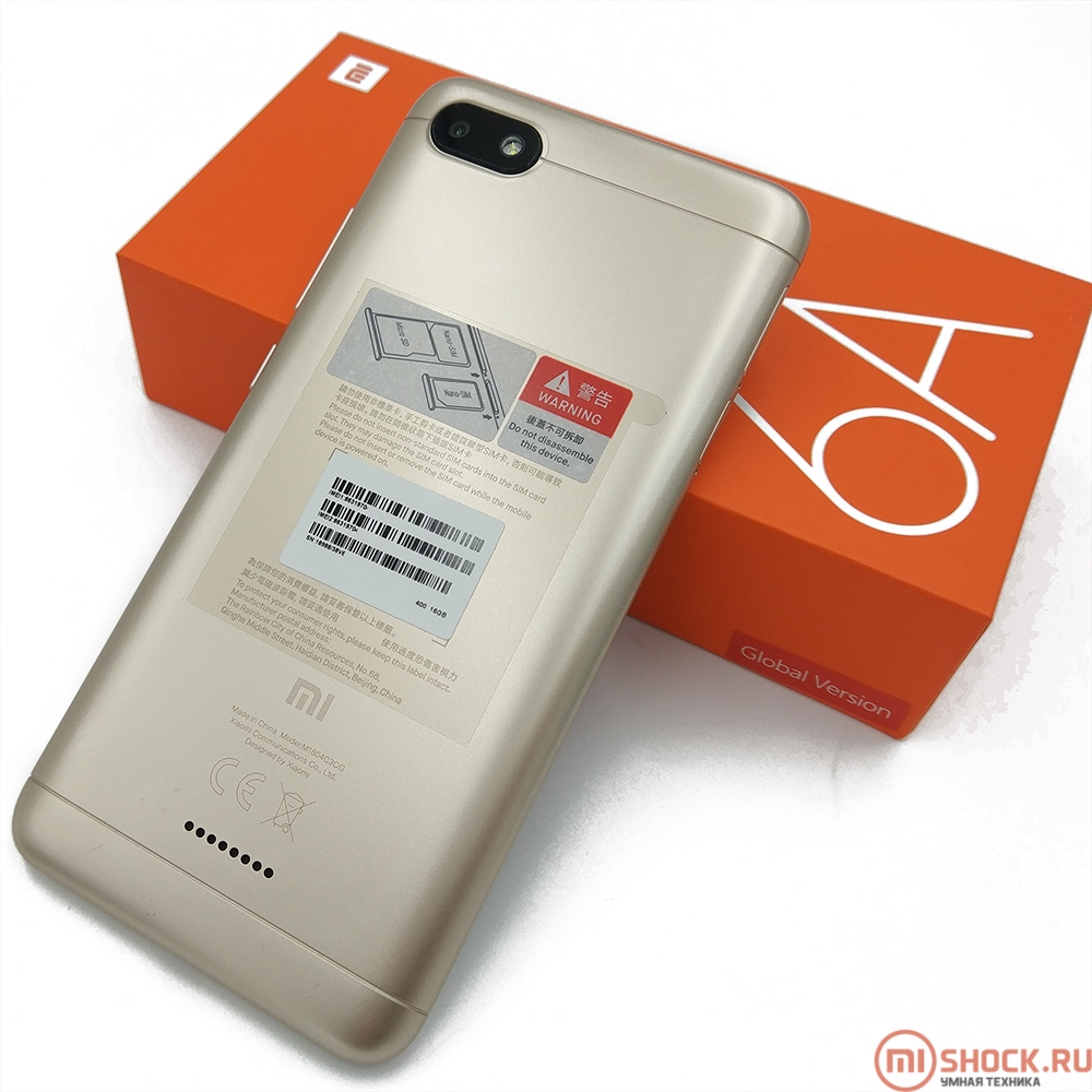Xiaomi Redmi 6a 2 16gb Gold