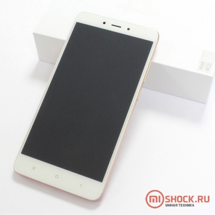Redmi Note 4X 4/64Gb Розовый (MTK)